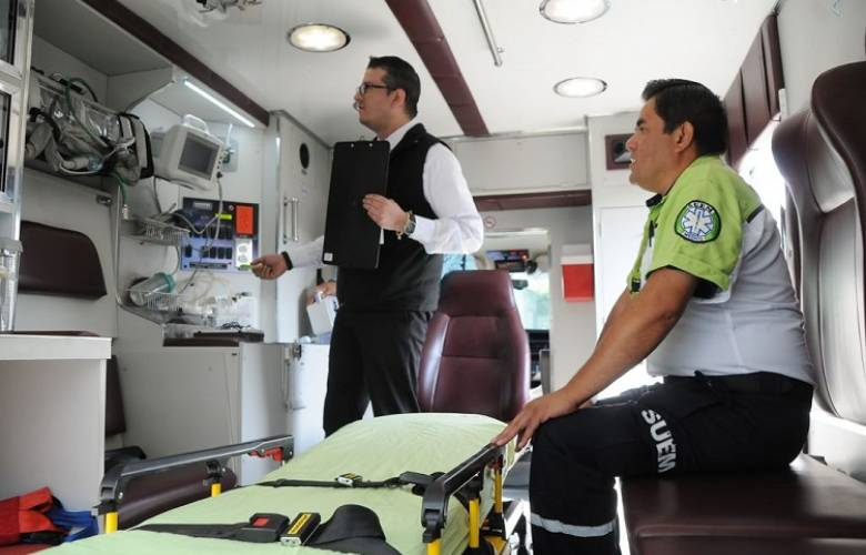 Verifica coprisem ambulancias del sector público y privado